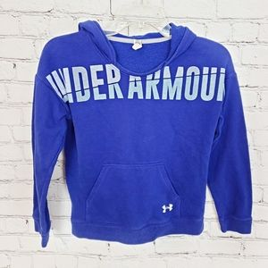 Under Armour|YMD Blue Pullover Hoodie Sweater